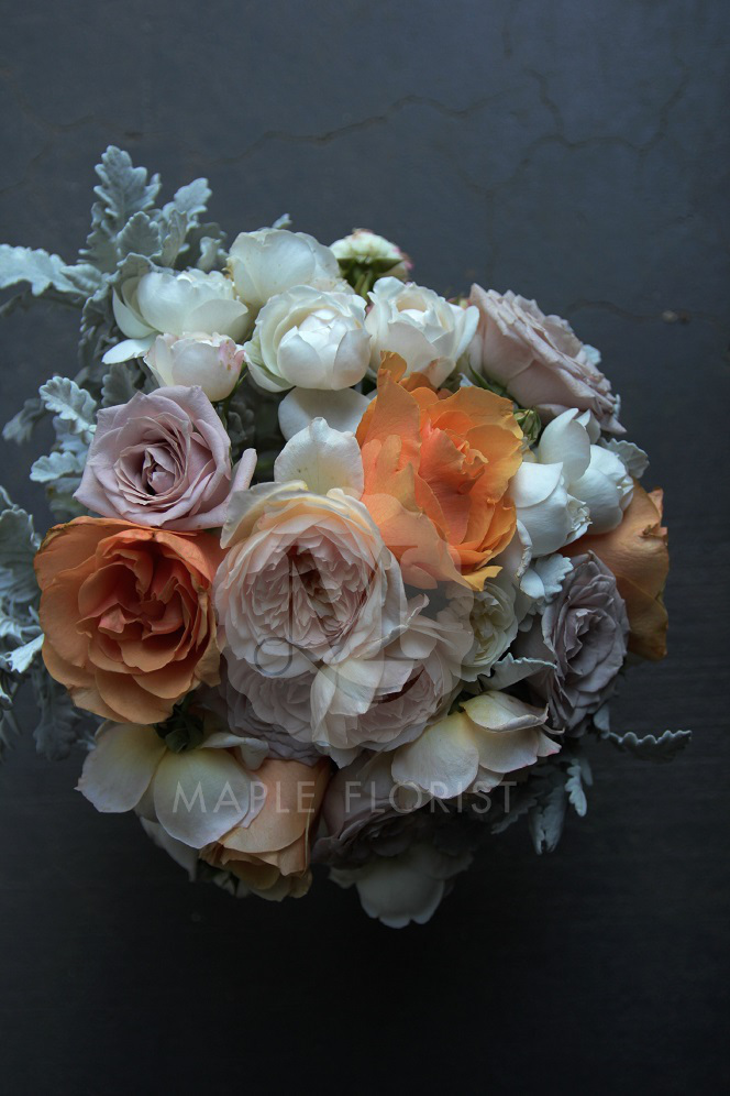 variety of david austen and garden roses